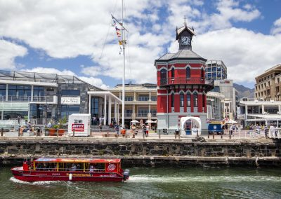Indawo's Clock Tower project in the V&A Waterfront, Cape Town, Western Cape