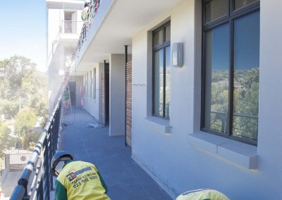 Indawo site staff instantly recognisable at all building refurbishment, roofing, painting or waterproofing sites in Cape Town, Johannesburg and Pretoria