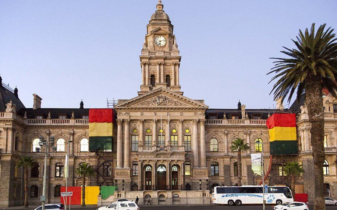 Cape Town City Hall comes back to aid SA