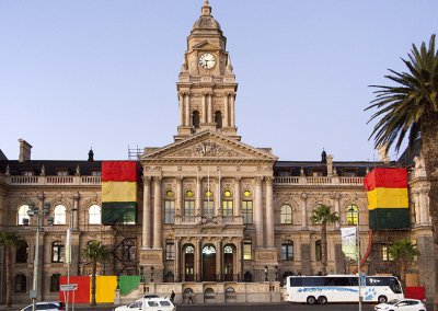 Cape Town City Hall roofing project done by Indawo