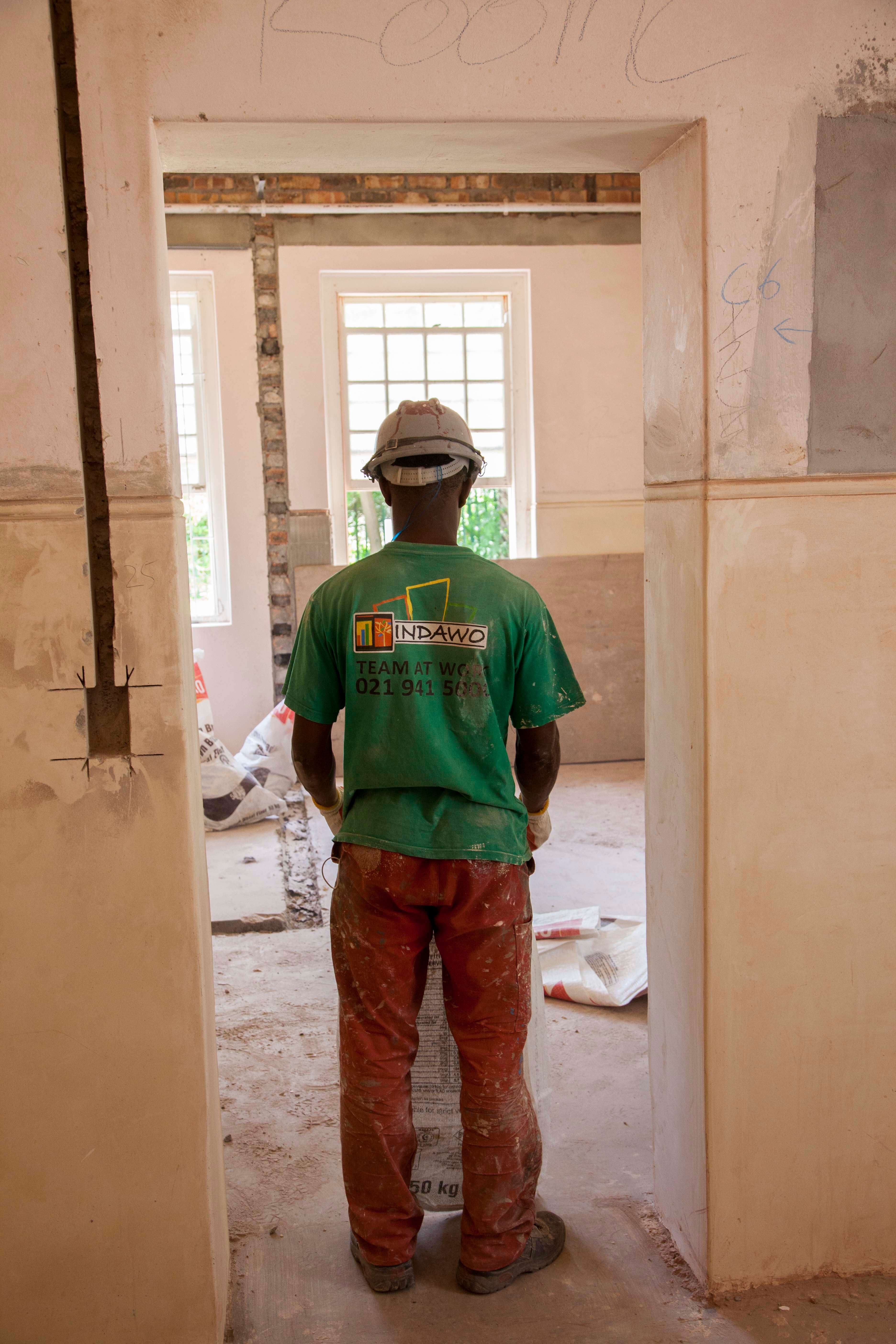 Indawo construction worker Nazareth House