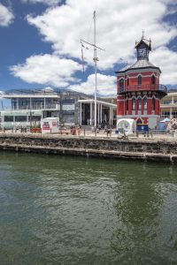 Indawo Clock Tower project at the V&A Waterfront.