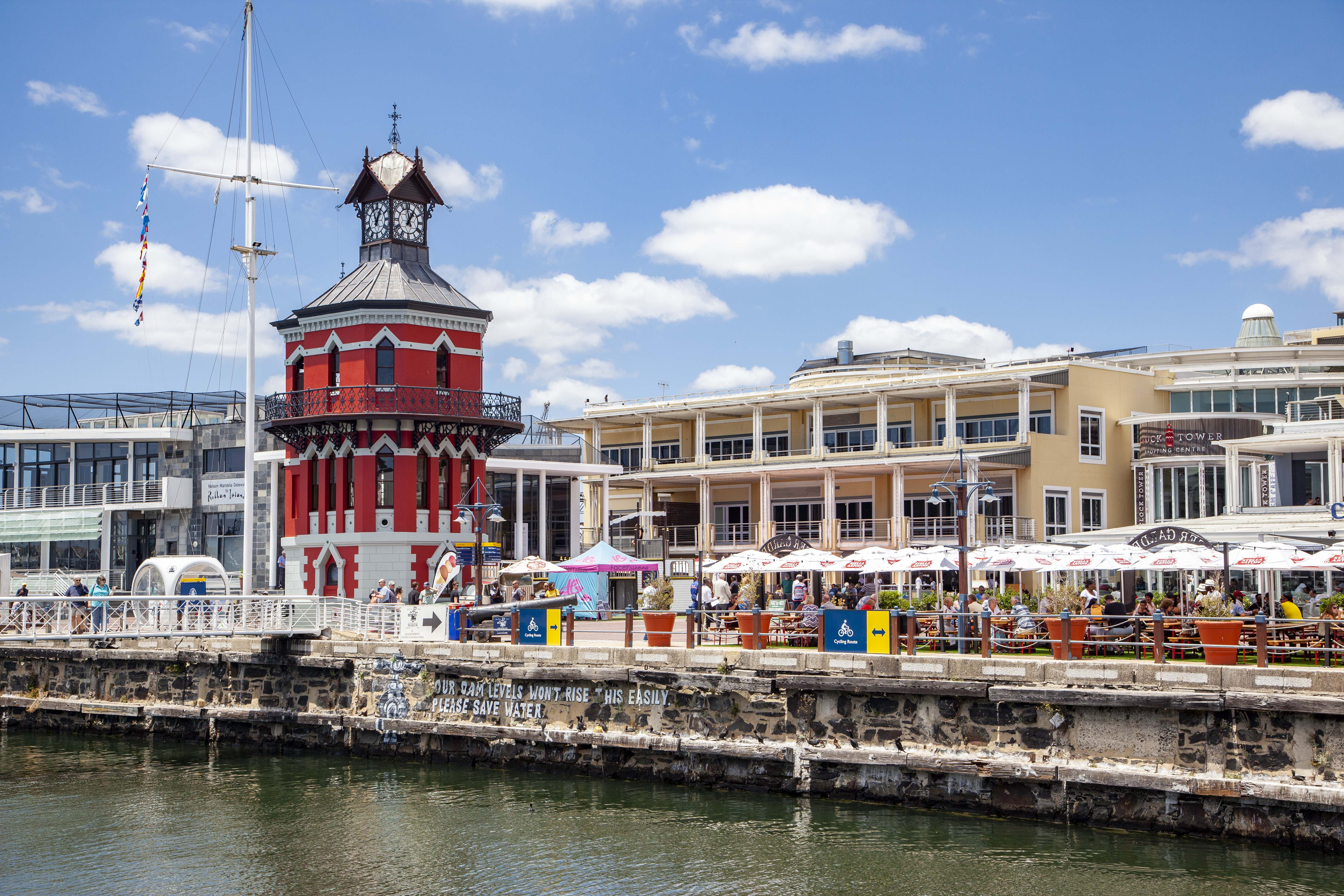The Clock Tower V and A Waterfront by Indawo