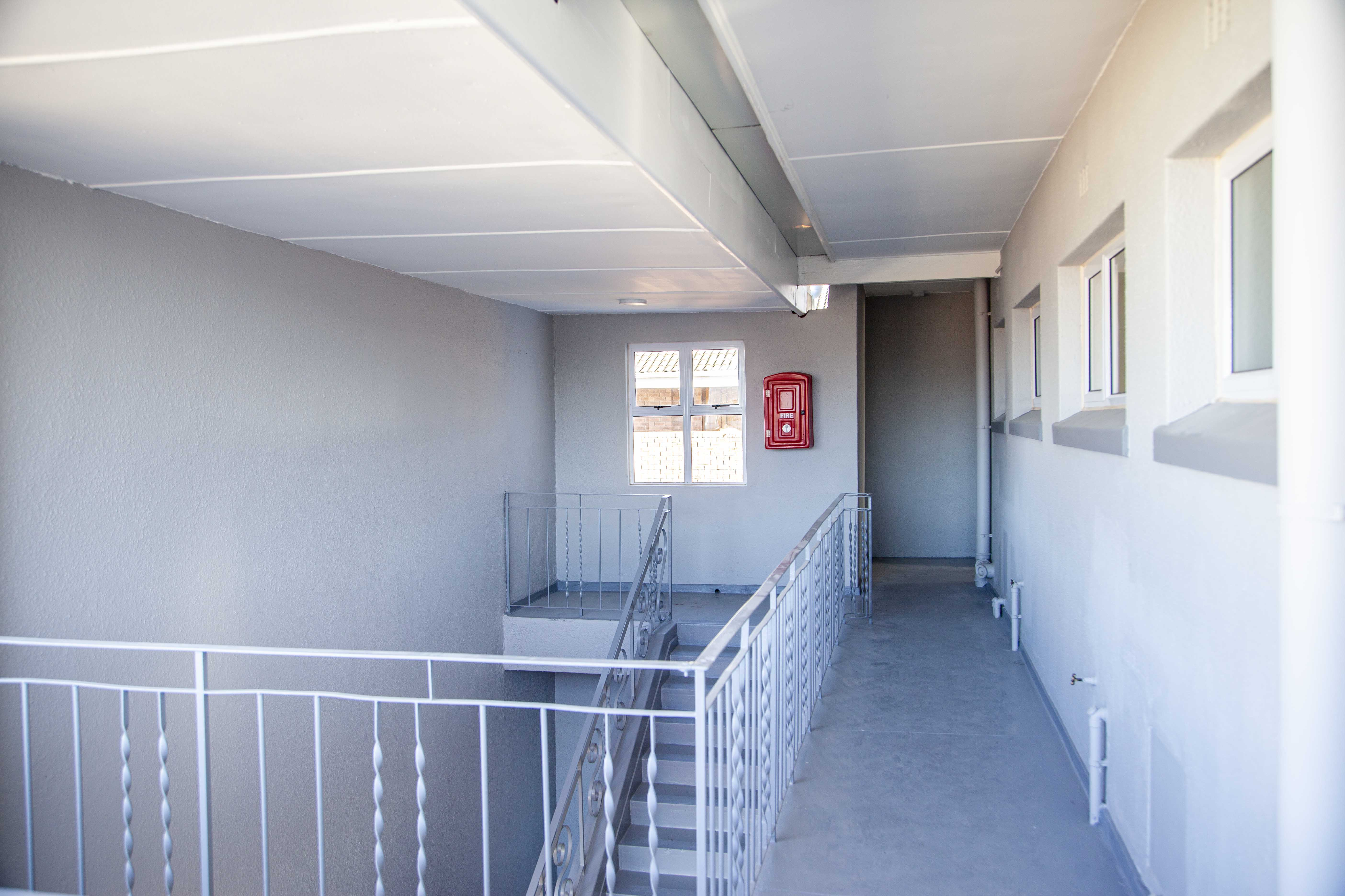 Rabako Court Indawo Building Refurbishment, painting, waterproofing, construction, redecoration