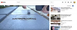 Videao - Indawo giving waterproofing advice