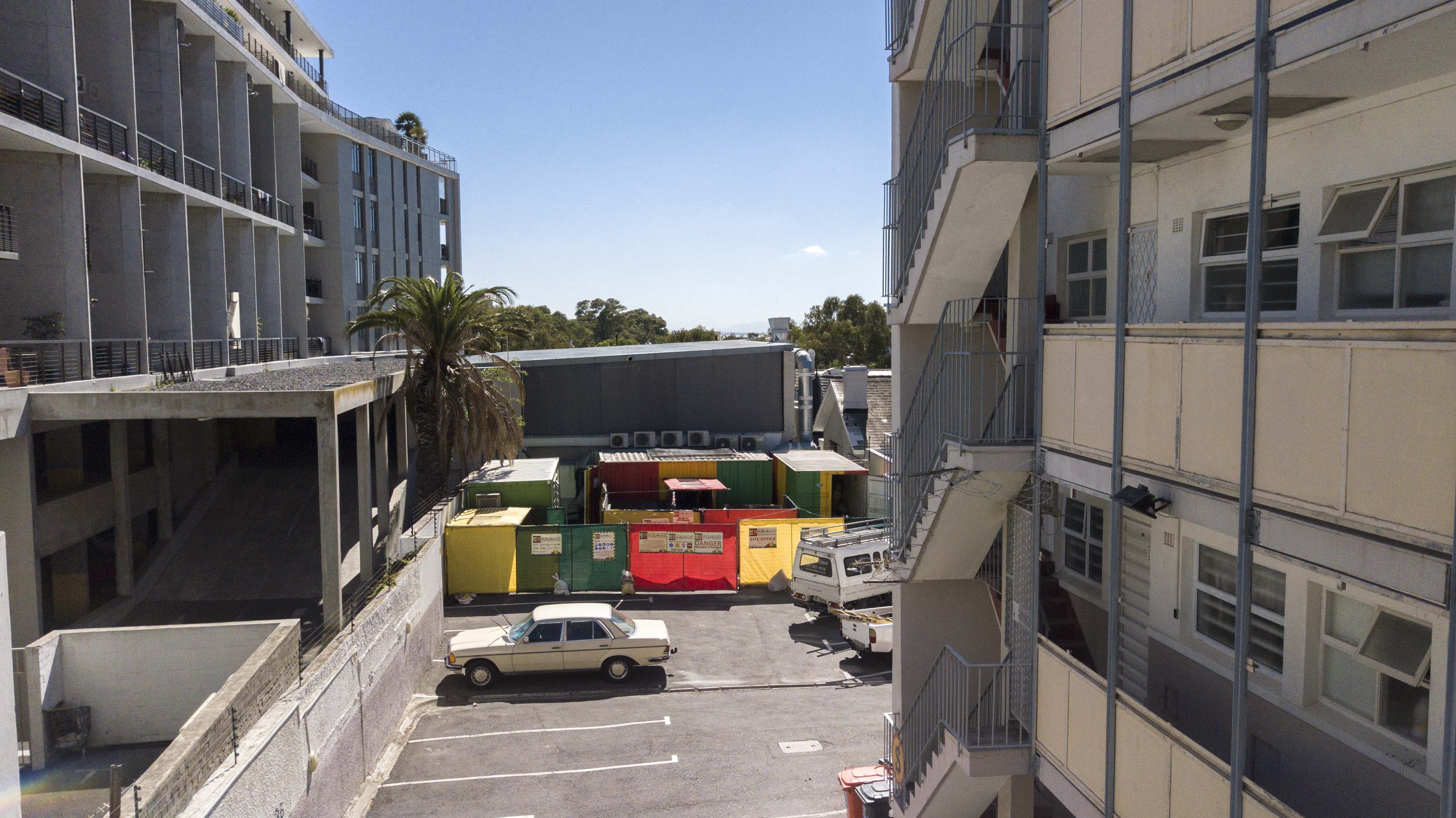 Structural repairs, Cascades Cape Town, facade removal and replacement