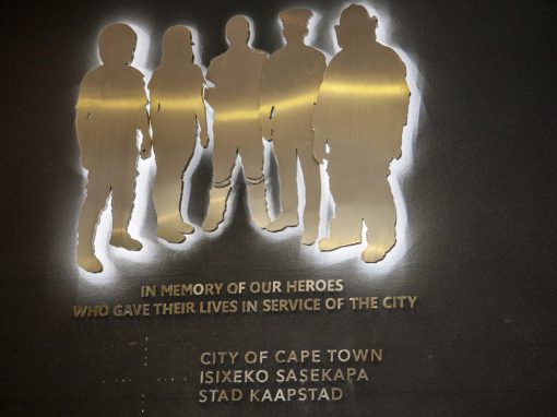 Memorial Wall Cape Town Civic Centre
