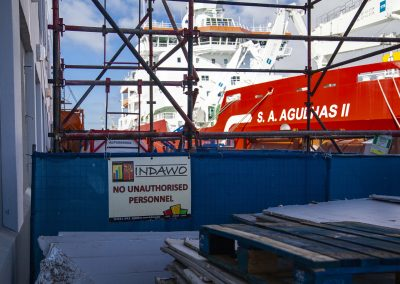 Indawo roofing contractor V&A Waterfront East Pier, asbestos roofing, asbestos removal, roof replacement