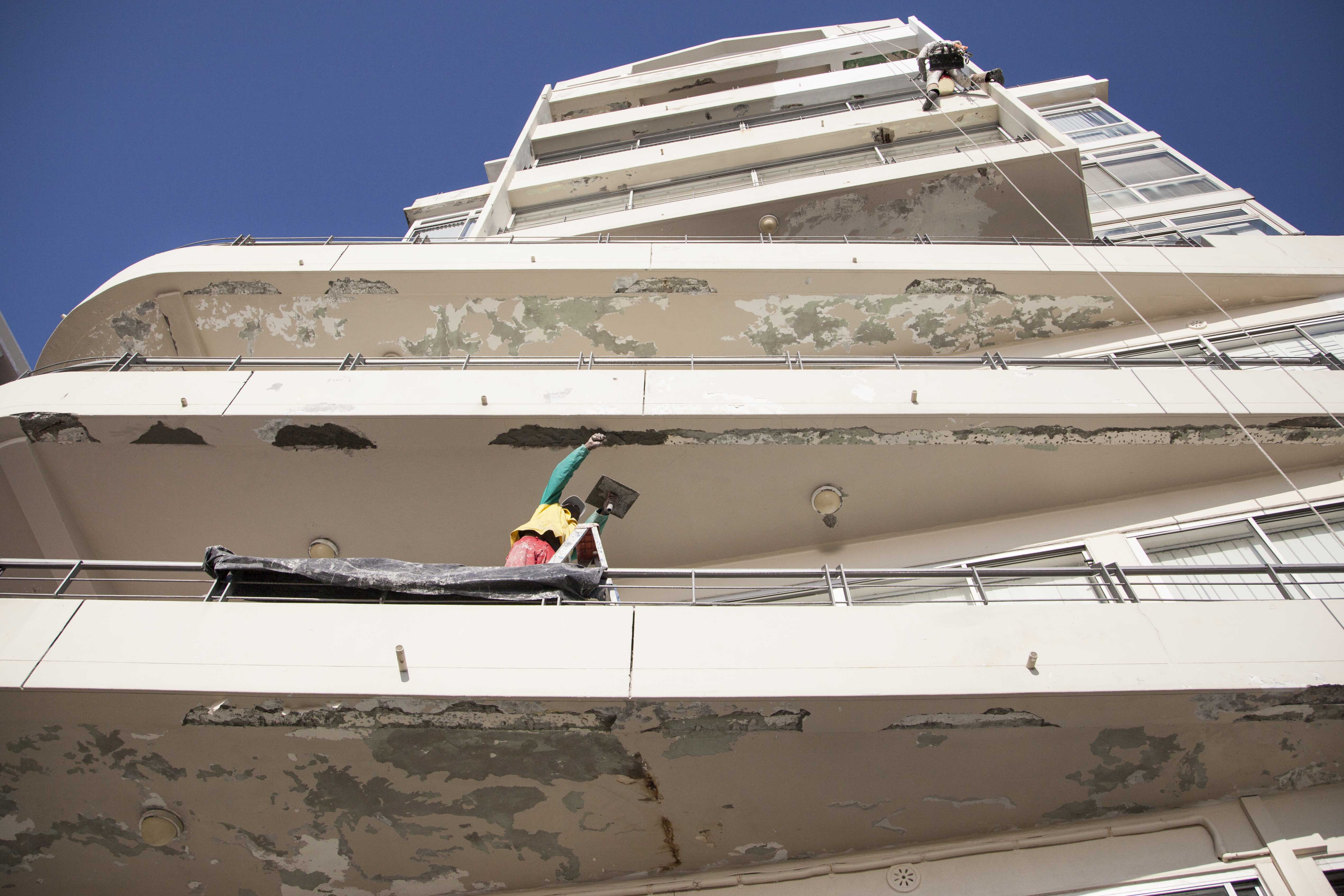 Spalling repairs by Indawo Cape Town Western Cape