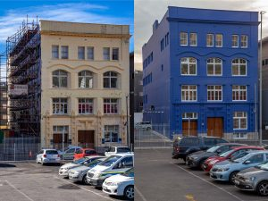 Union House redecoration/painting by commercial painting contractors, Indawo, Cape Town