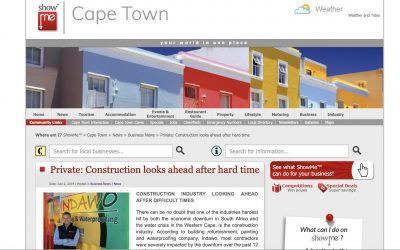 showmecapetown Construction industry looking ahead after hard time