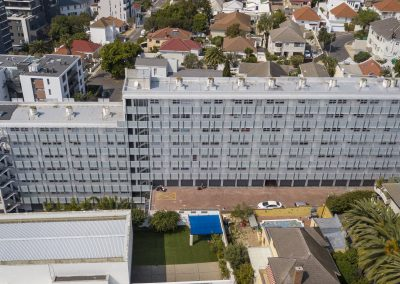 Indawo project, Building refurbishment, Cascades, Green Point