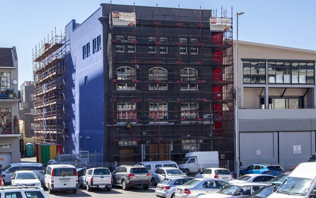 Union House, Cape Town Painting