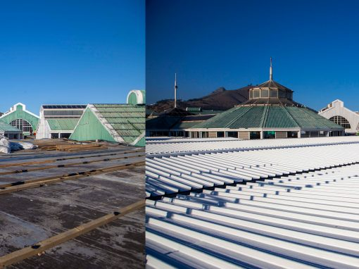 Roofing in Cape Town – V&A Waterfront roofing project