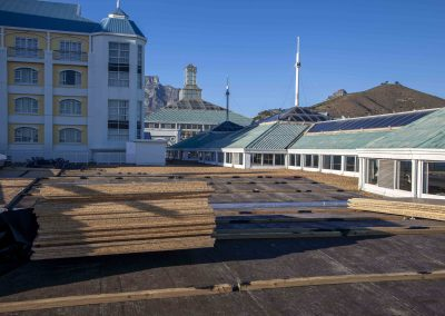 V&A Waterfront roofing project, phase 2  Roofing solutions Cape Town