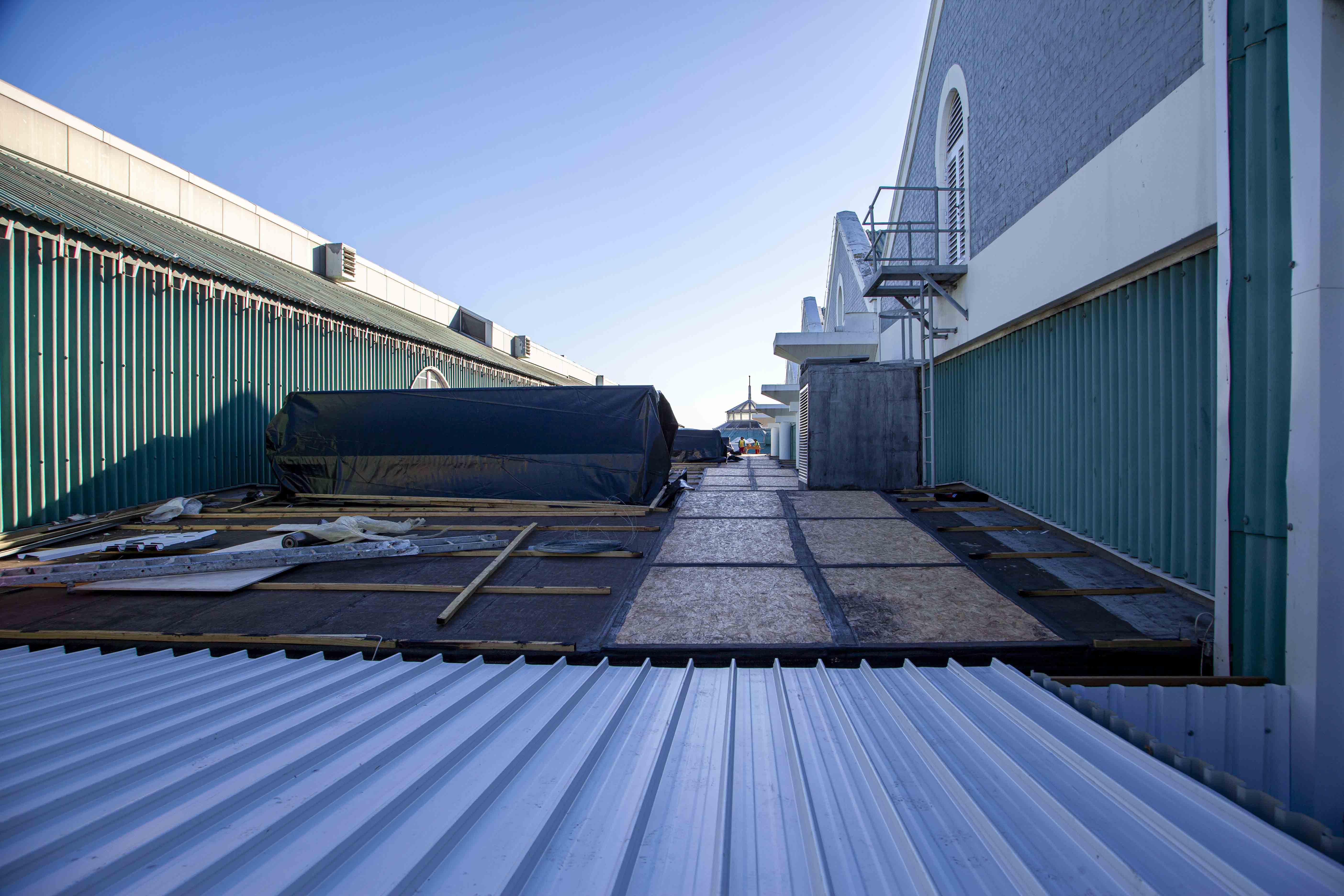 V&A Waterfront roofing Cape Town roofing project waterproofing by roofing contractors, Indawo