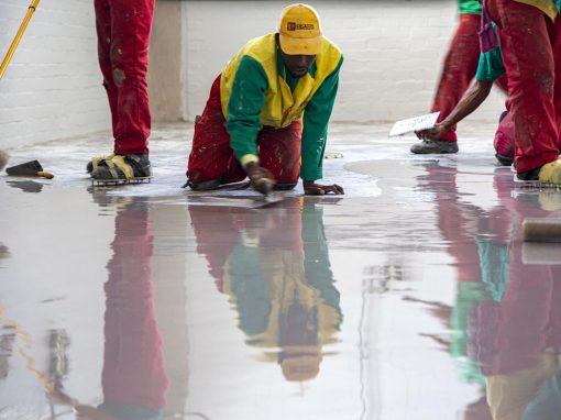 Flooring in Cape Town Potsdam WWTW