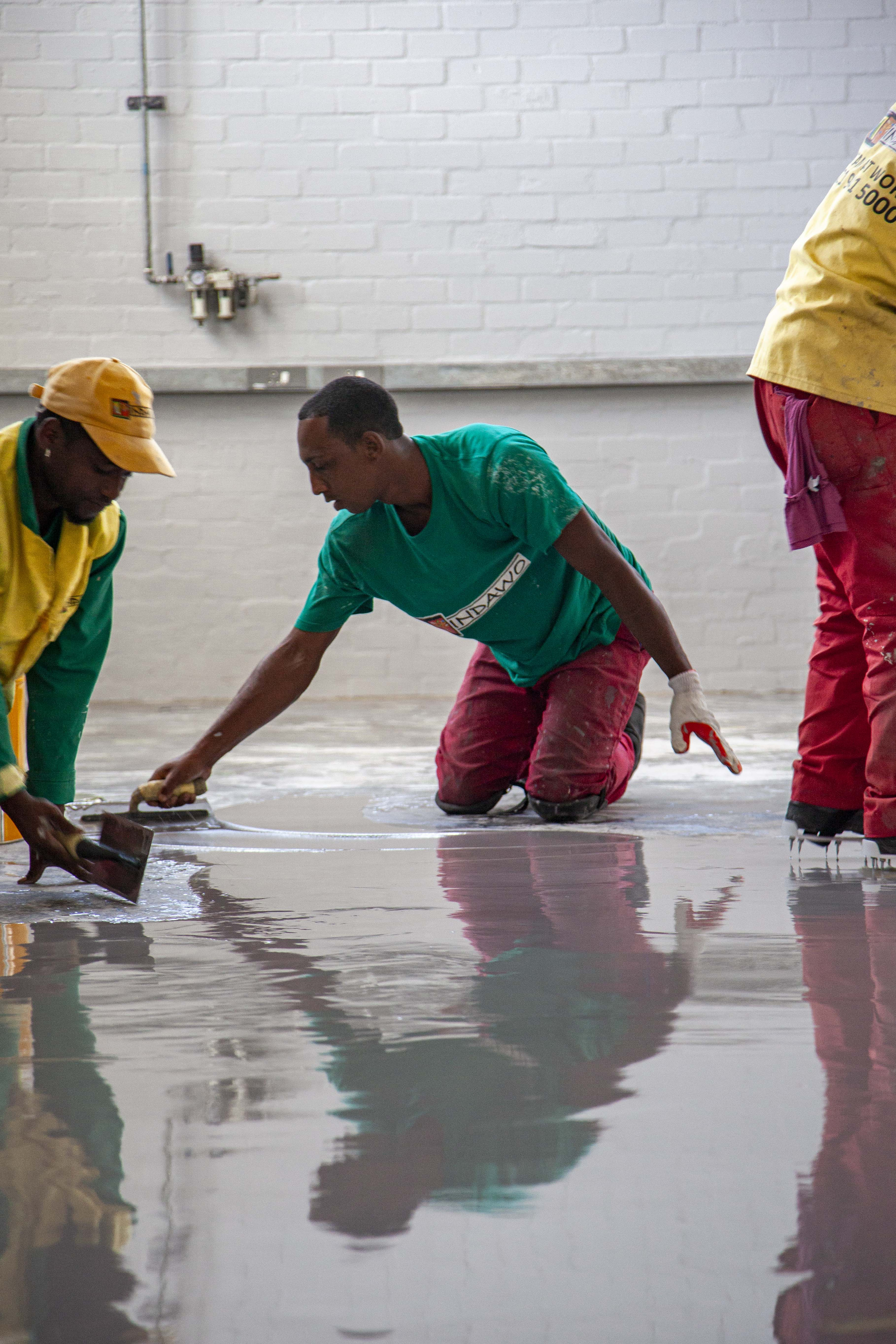 epoxy flooring in Cape Town by Indawo