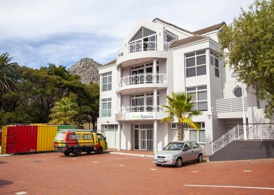 Westlake, Cape Town, external painting, water jetting, steelwork