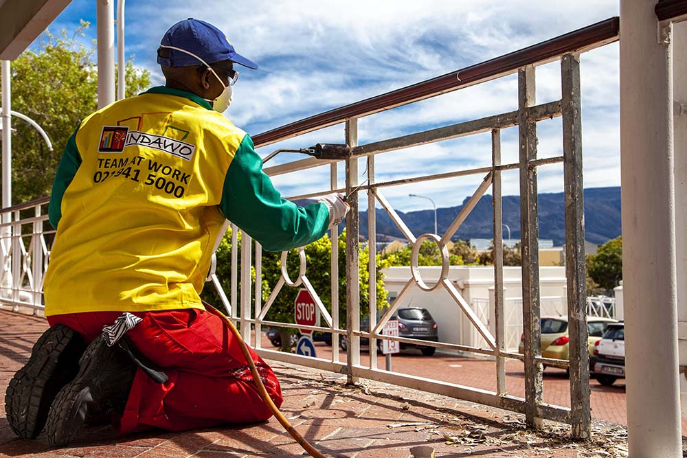 painting redecoration steelwork water jetting cape town