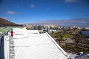 V&A Waterfront roofing in Cape Town