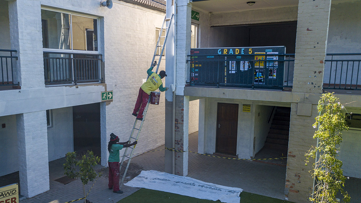 school building maintenance by Indawo schools cape town