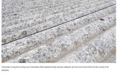 Indawo in the media – asbestos abatement regulations