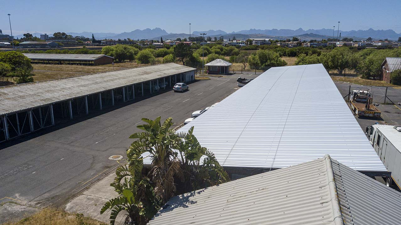 Roof replacement asbestos cape town