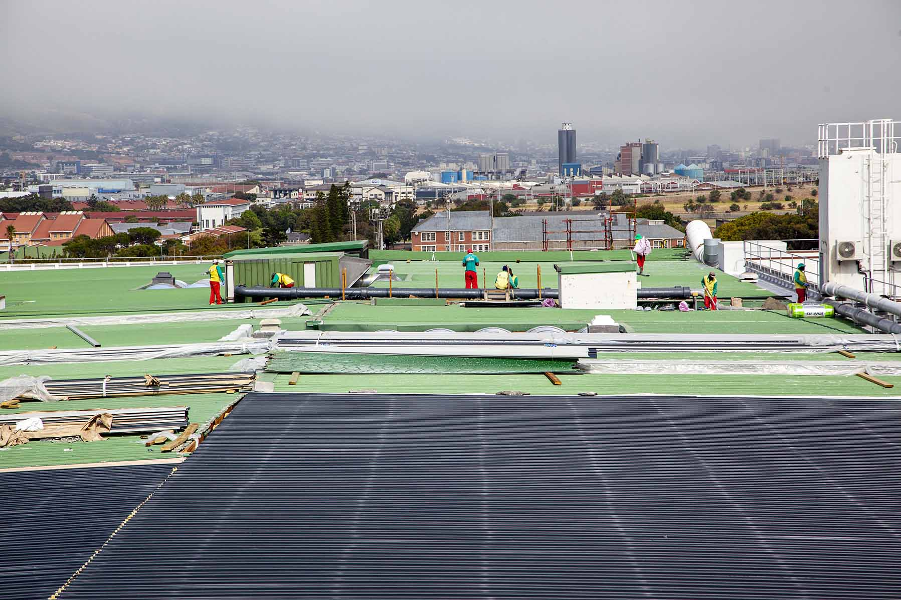 Roof sheeting contractors Cape Town