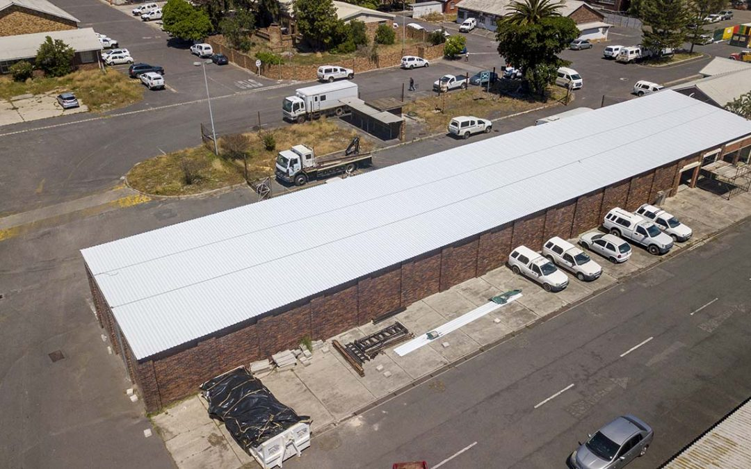 Transnet Office Park – Asbestos Roof Replacement Cape Town